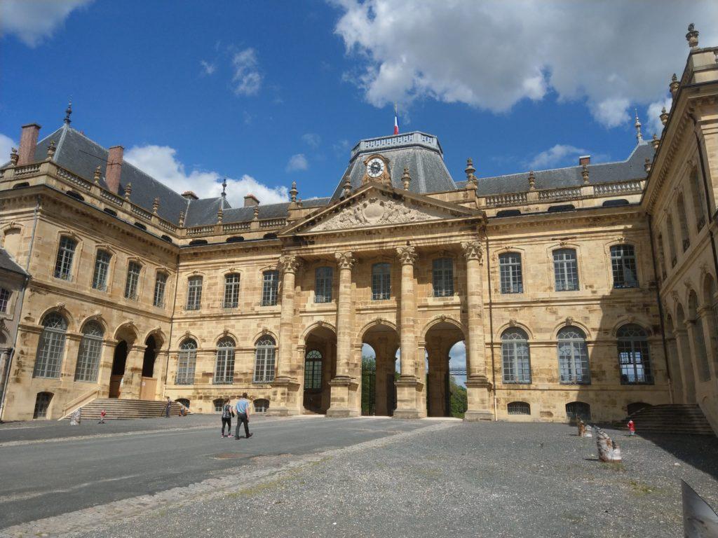 L'entrée du Château de Lunéville