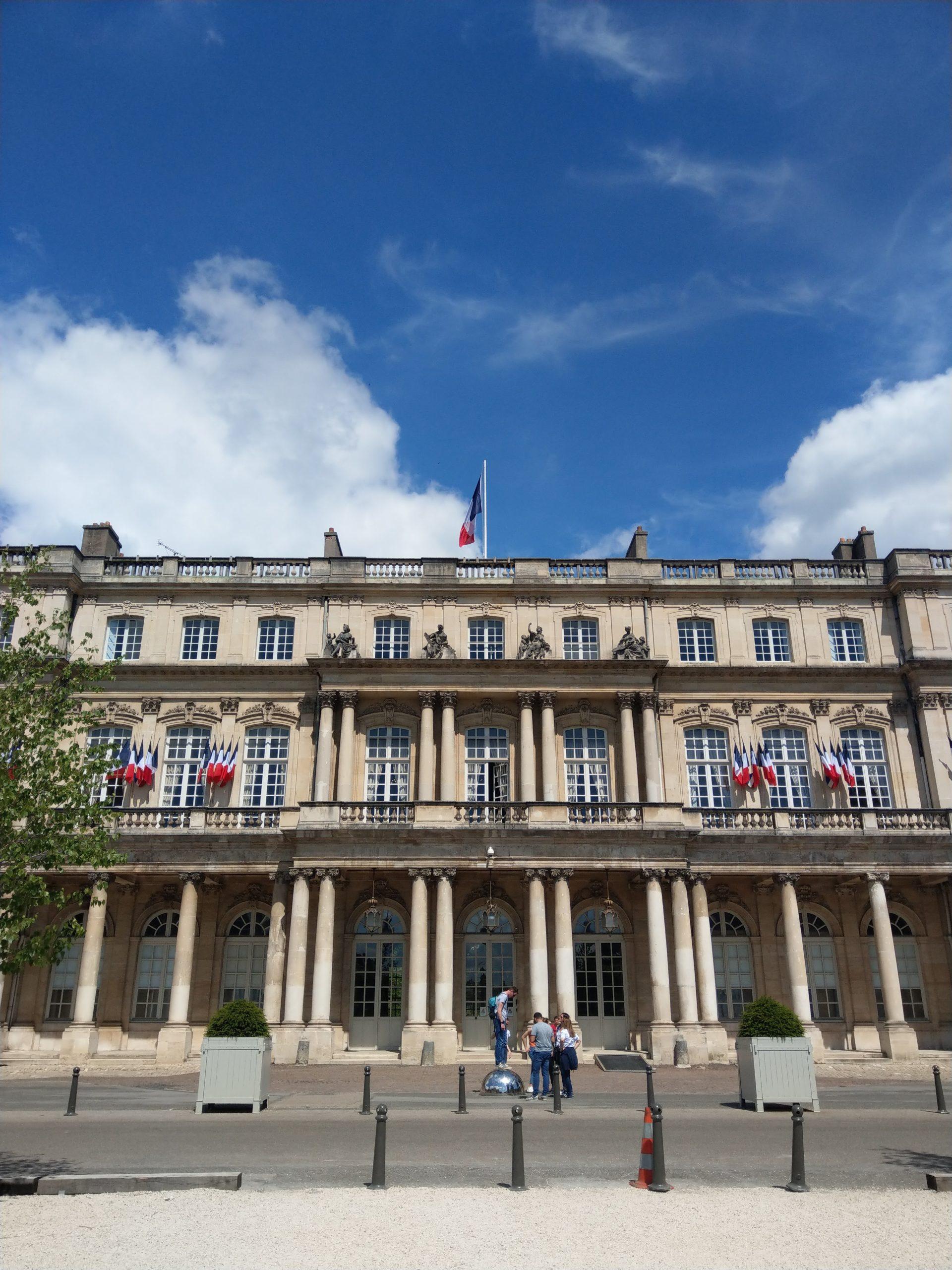 Le Palais du Gouvernement de Nancy