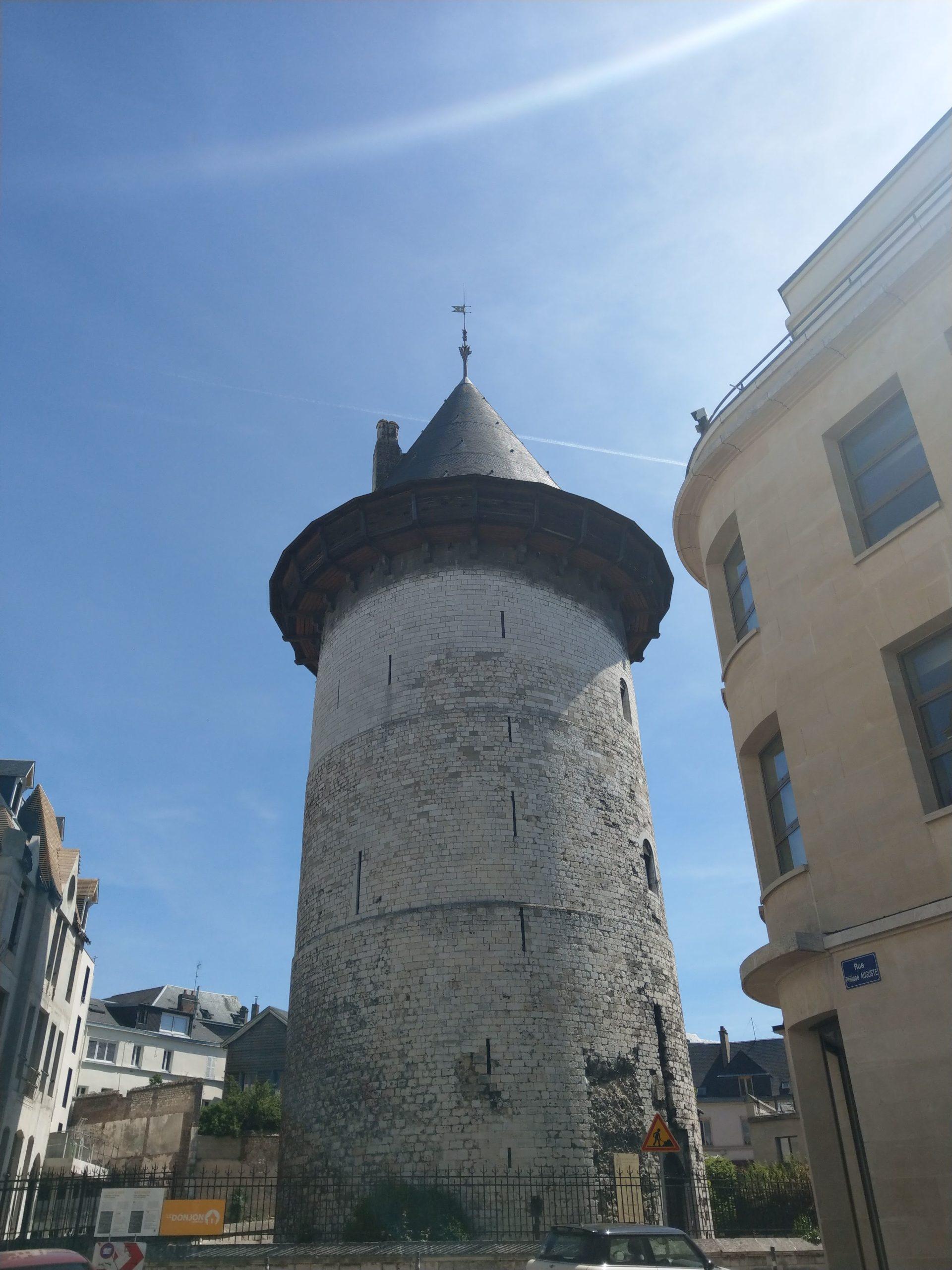 Le Donjon Jeanne d'Arc à Rouen