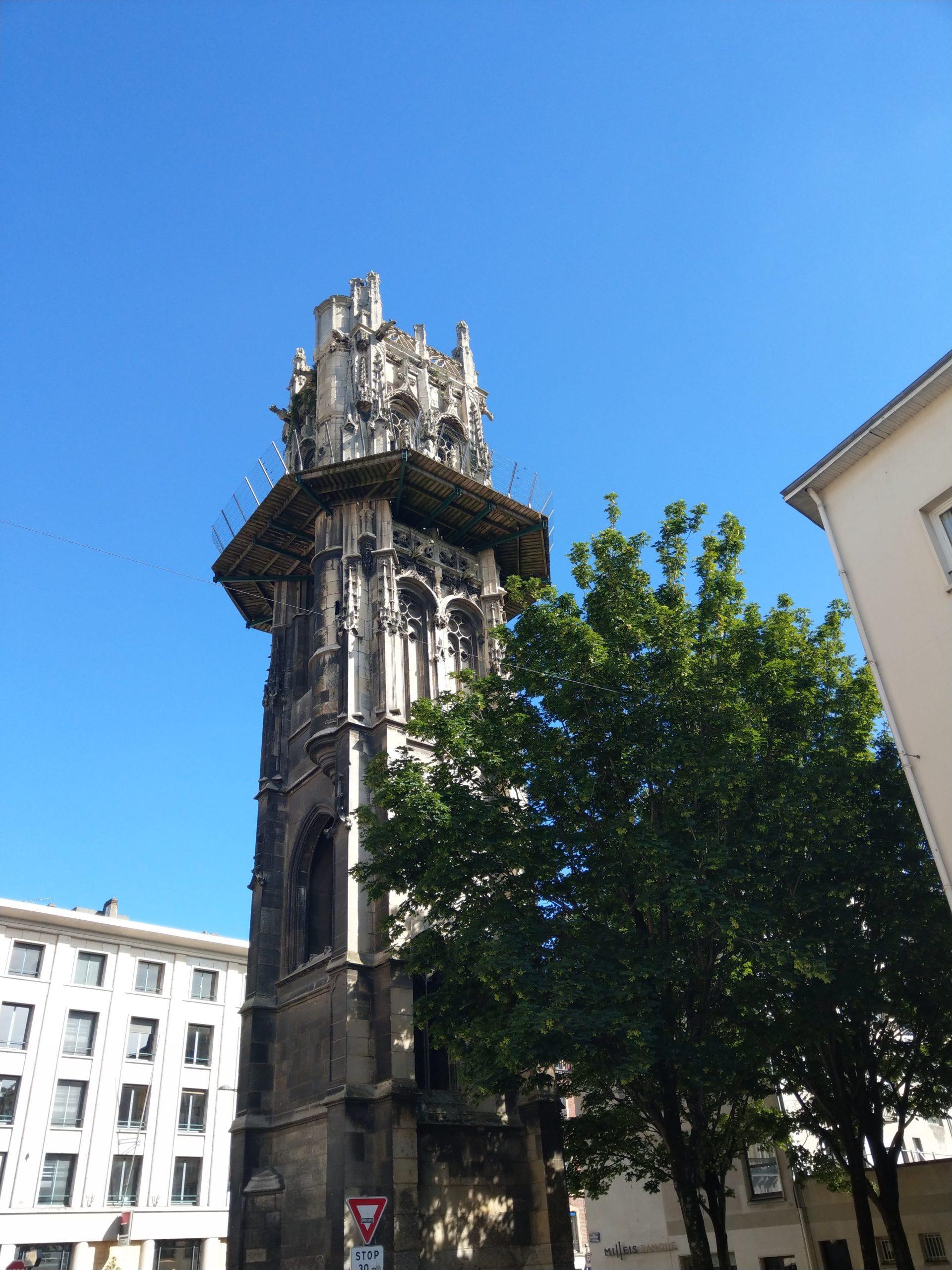La Tour Saint-André à Rouen
