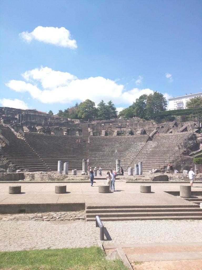 L'amphithéâtre de Lyon