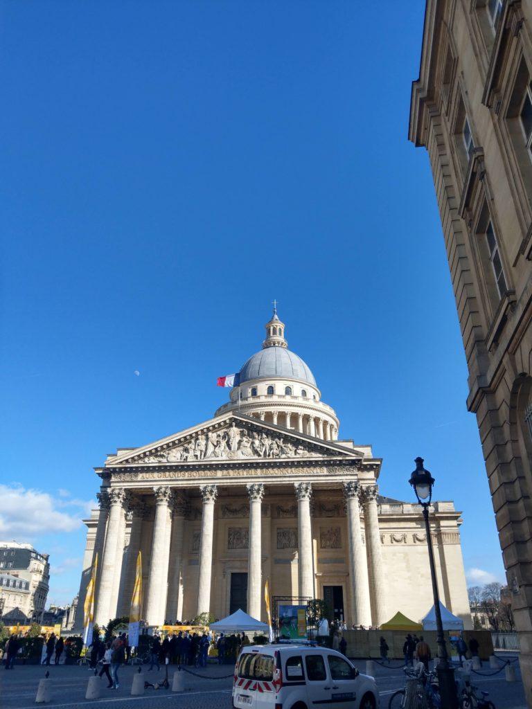 Panthéon à Paris l'ancienne Eglise Sainte-Geneviève