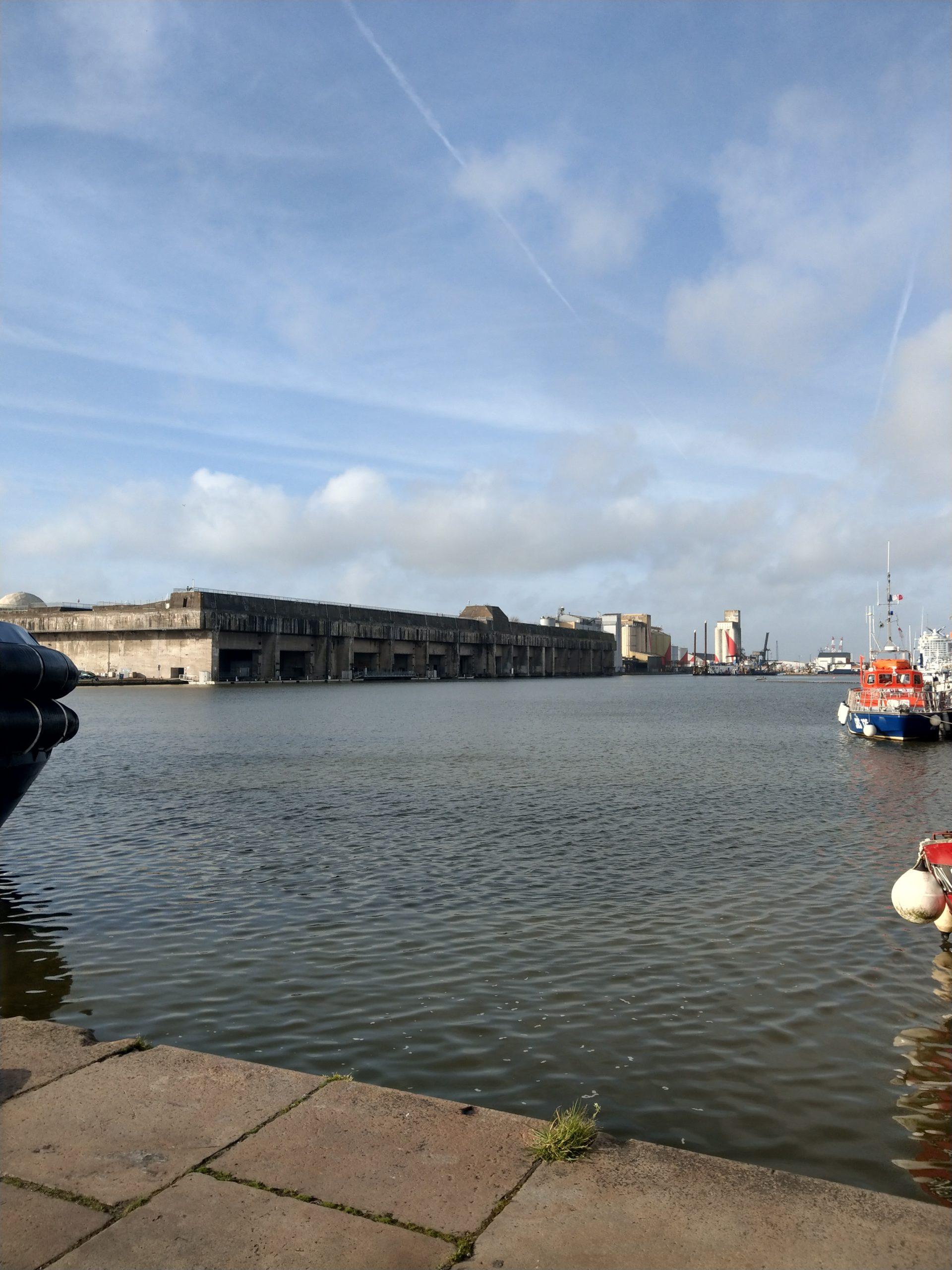 base navale sous-marine à Saint-Nazaire