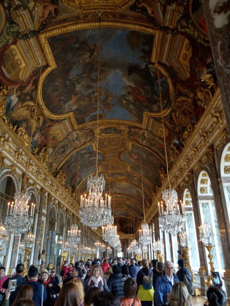 Galerie des Glaces Versailles