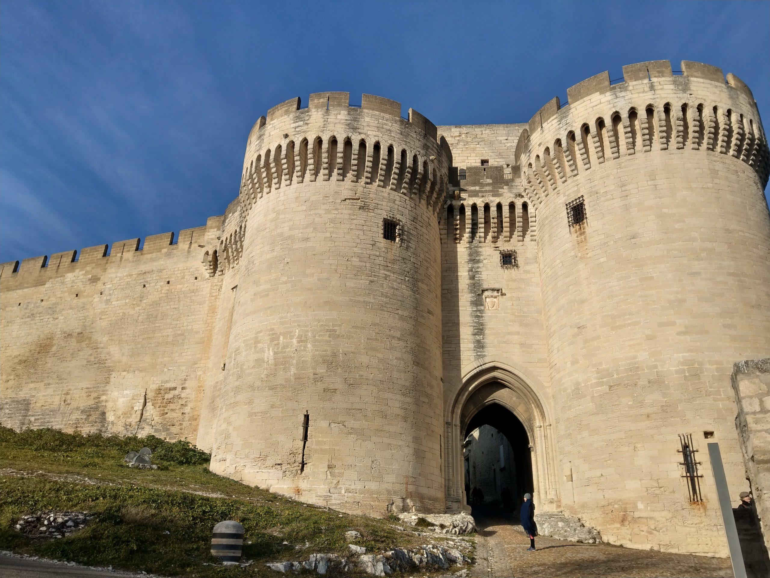 Le Fort Saint-André construit sur les hauteurs du Rhône