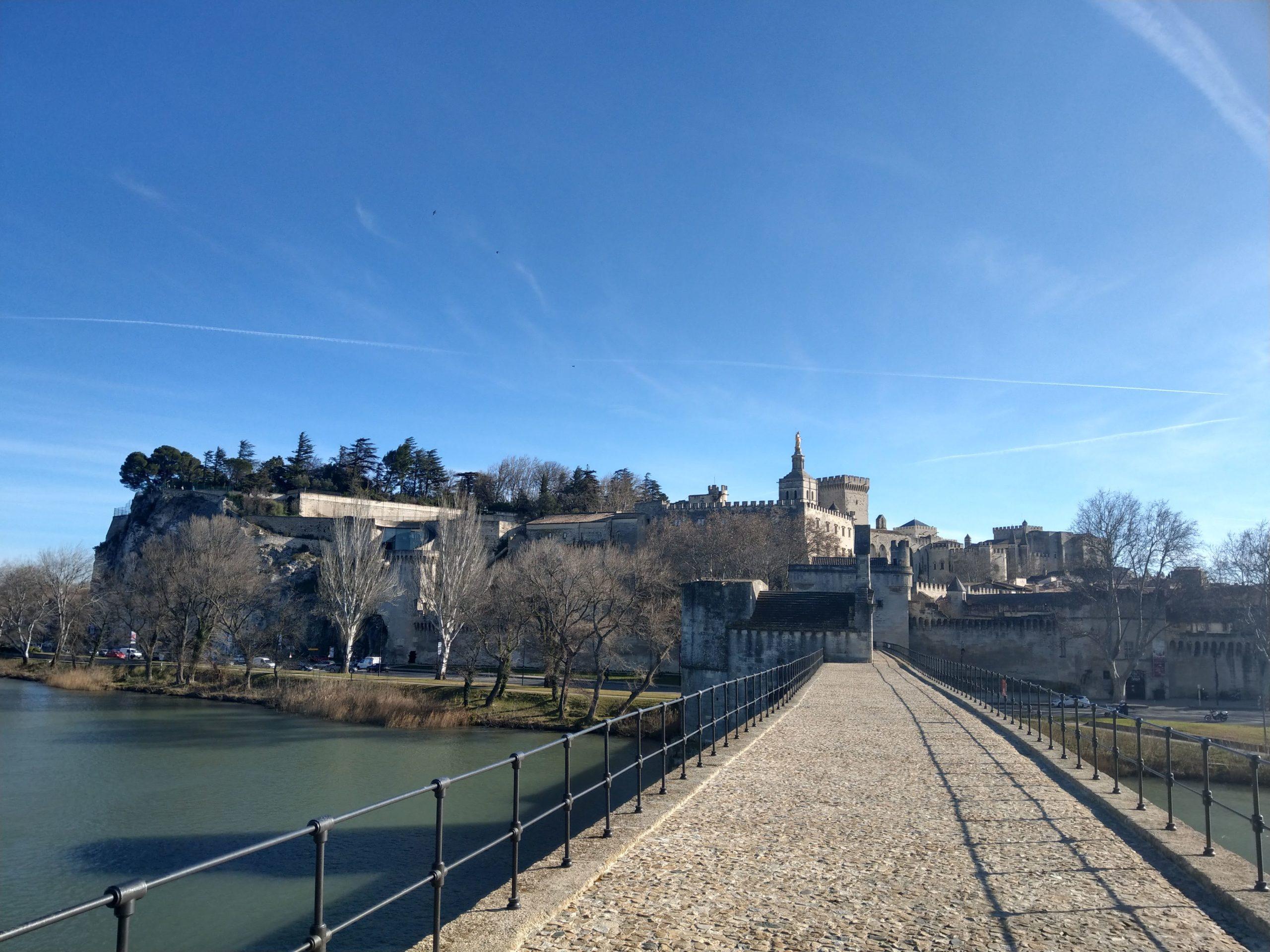 Pont d'Avignon panorama