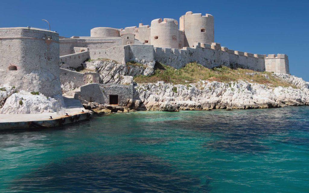 Photo Château d'If depuis la mer
