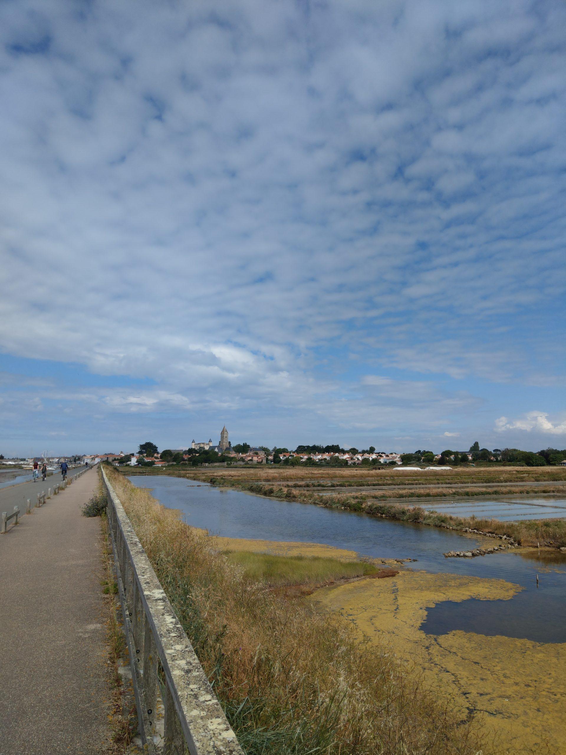 Panorama noirmoutier marais salnts