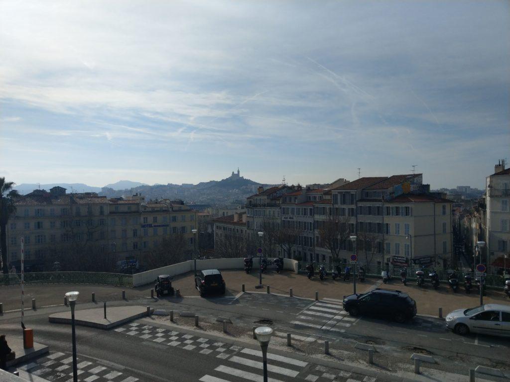 Panorama gare marseille