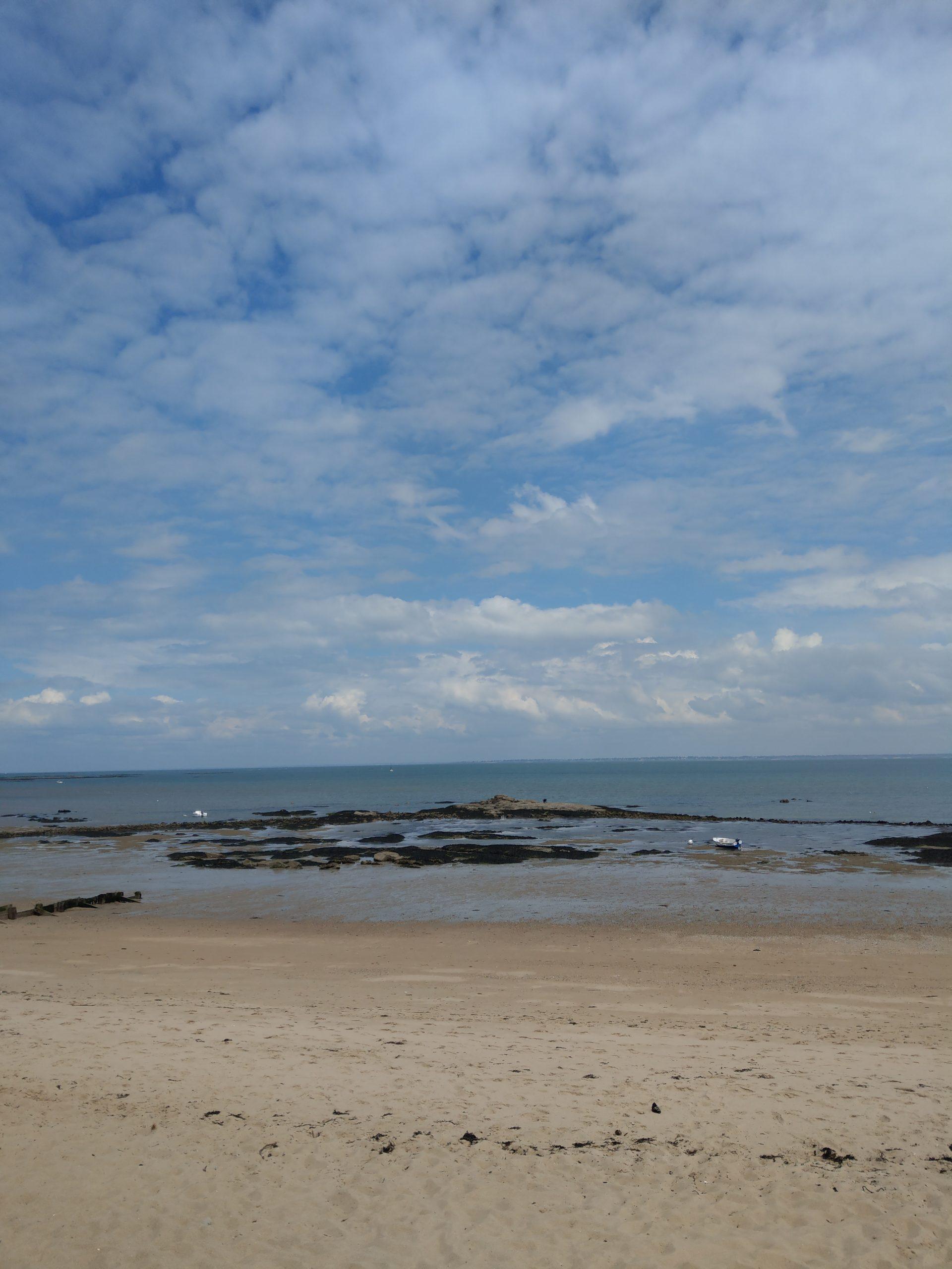 panorama plage de la Clère