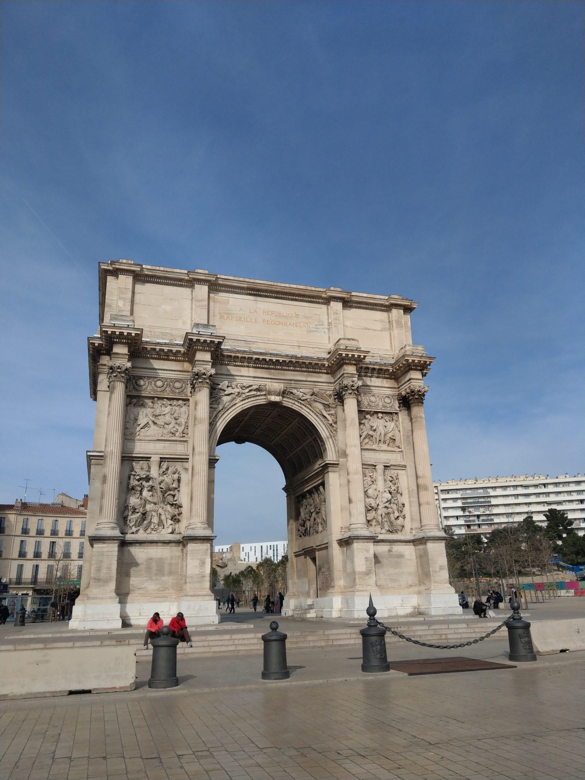Porte d'Aix Marseille