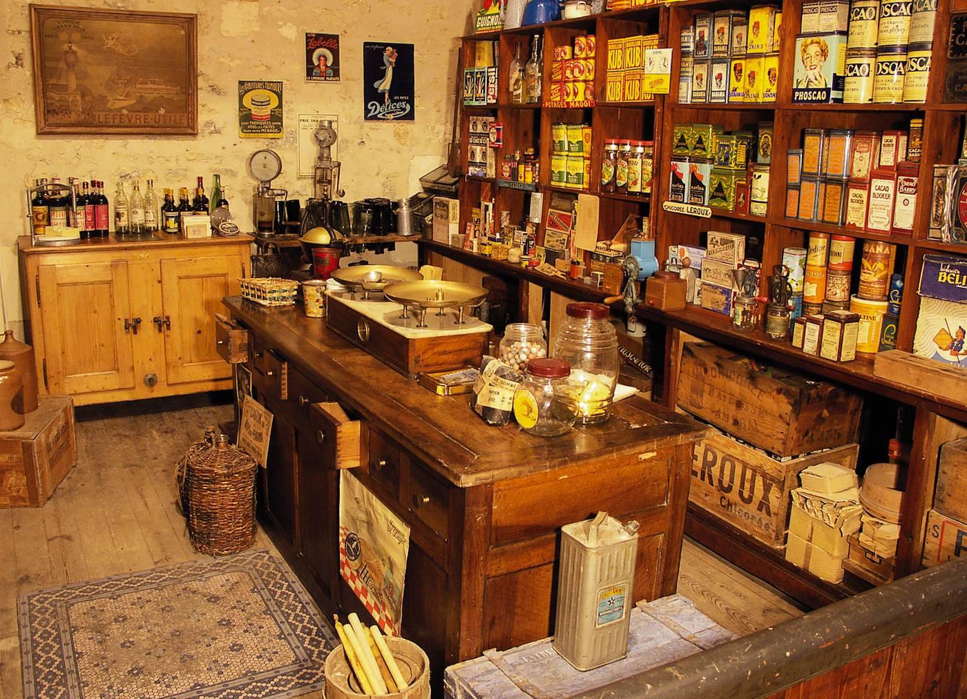 Le Musée des Commerces d'Autrefois de Rochefort