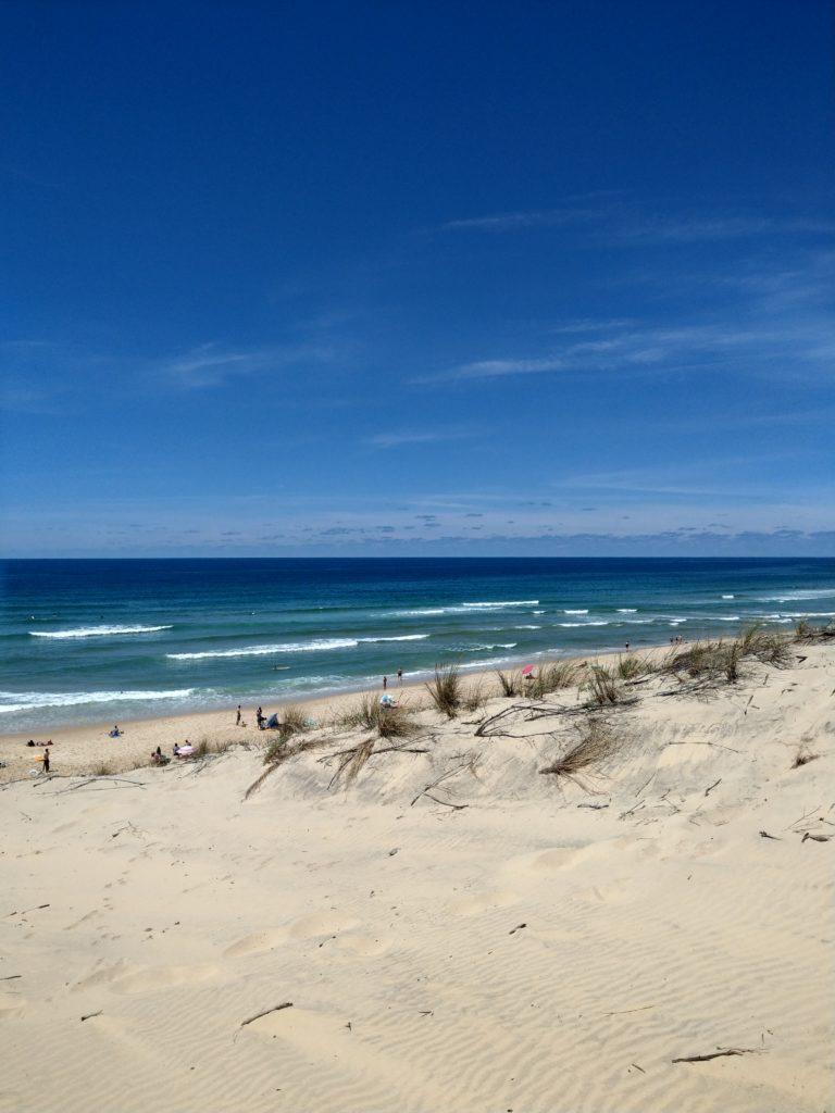atlantique plage biscarosse