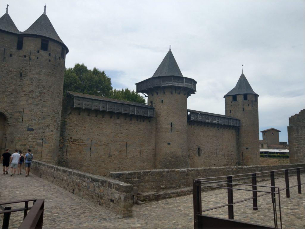Le château comtal de Carcassonne