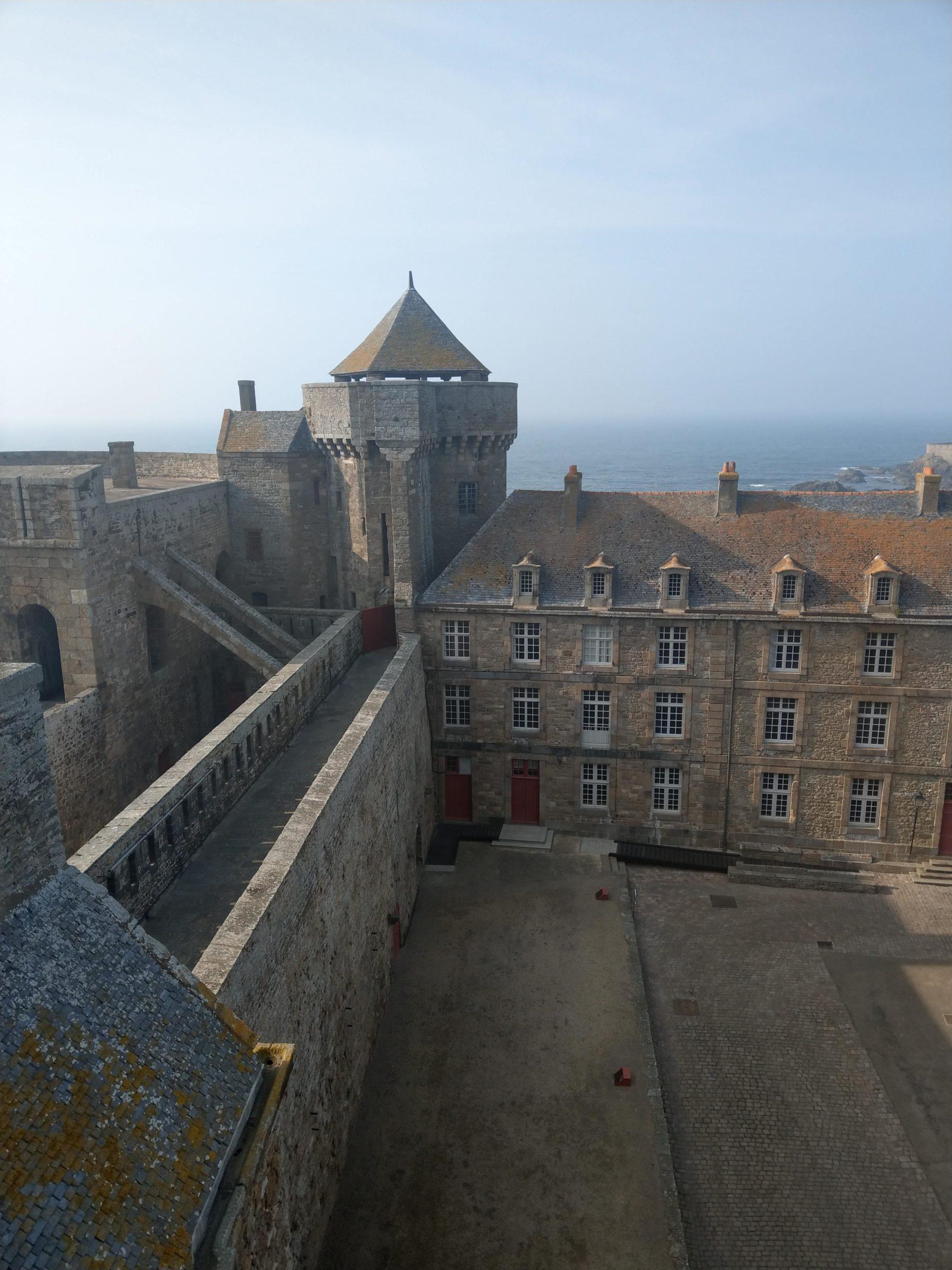 Donjon château saint-malo