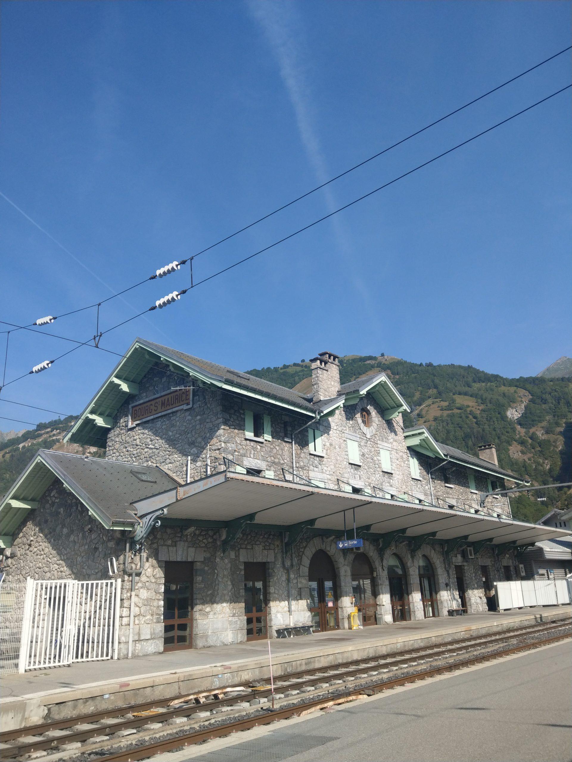 Gare de Bourg Saint-Maurice