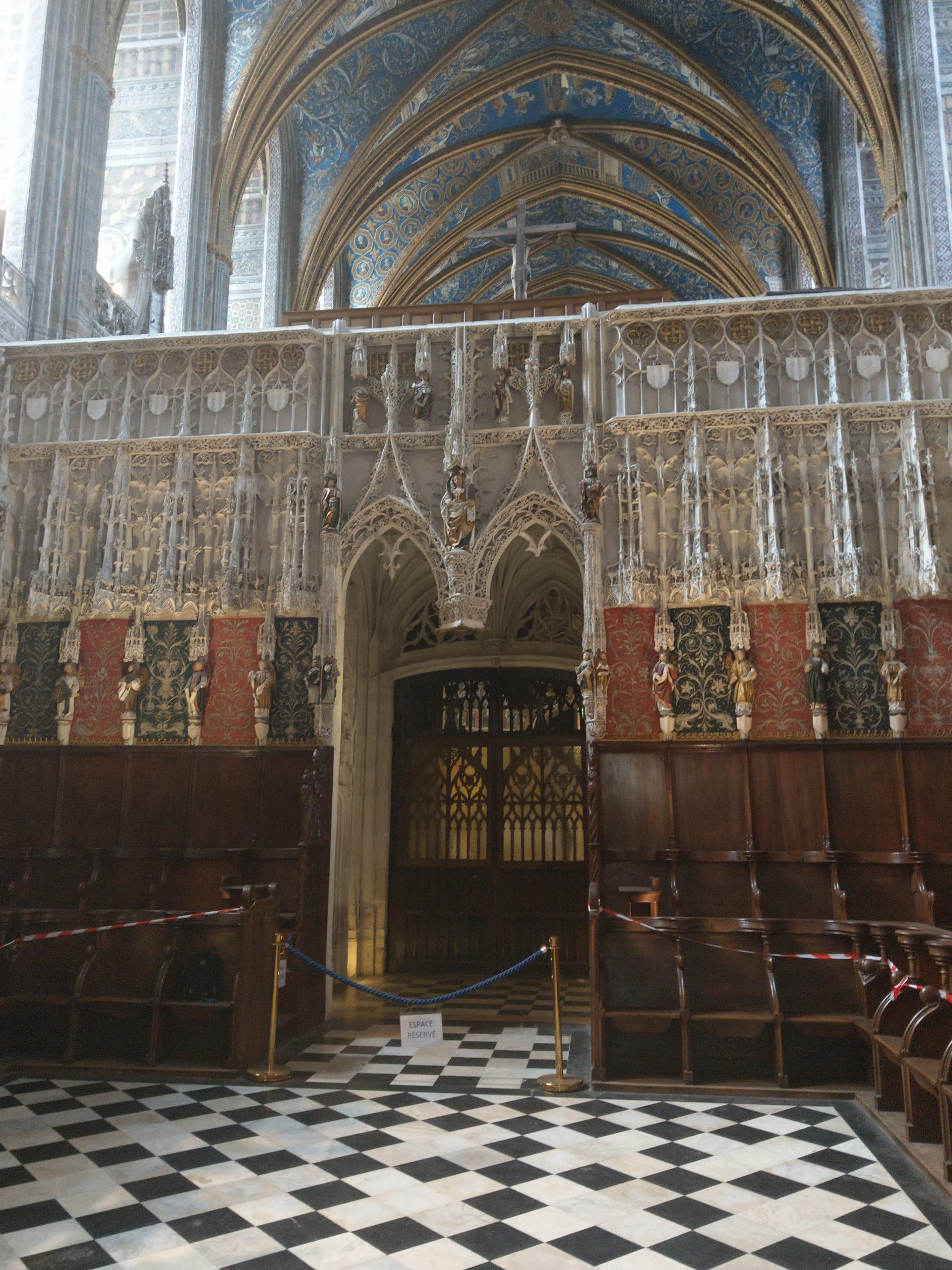 Choeur de la Cathédrale d'Albi
