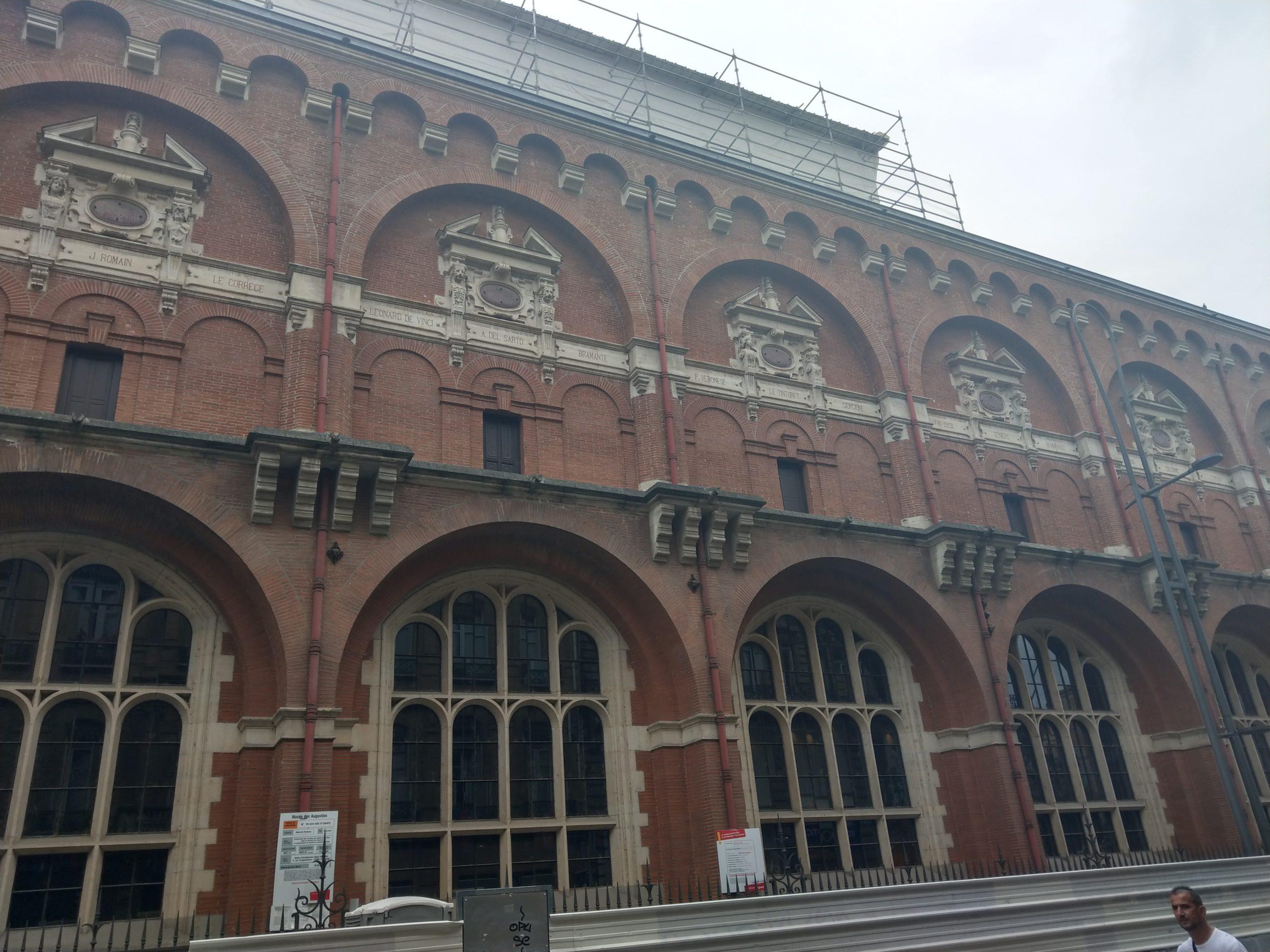 Façade du Musée des Augustins à Toulouse