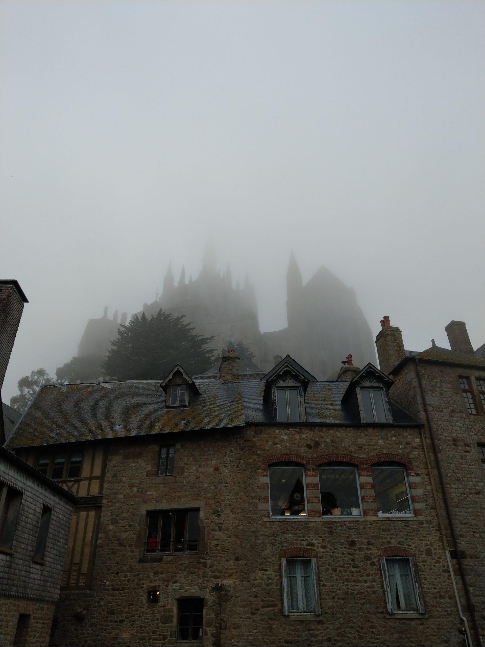 Brouillard Mont Saint-Michel