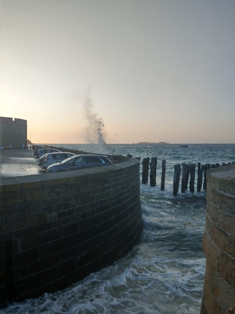Grandes marées Saint-Malo